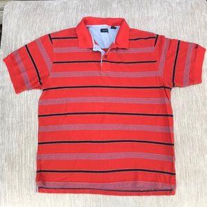 Vintage Men's Striped Polo